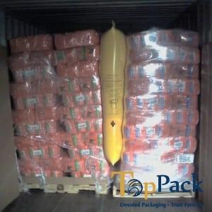 túi khí chèn hàng xe tải