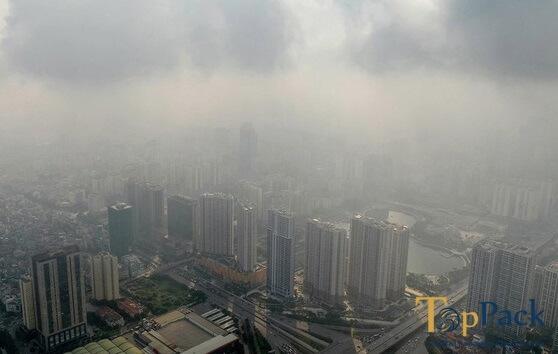 Không khí Hà Nội chạm ngưỡng ô nhiễm đặc biệt nguy hiểm