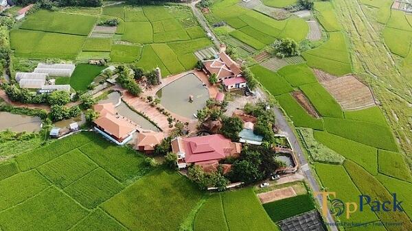 chùa Nga Hoàng nằm ở đâu, ở xã Hợp Châu, Tam Đảo - Vĩnh Phúc