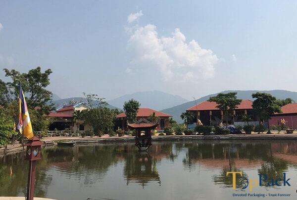 chùa Nga Hoàng ở đâu tại xã Hợp Châu, Tam Đảo Vĩnh Phúc