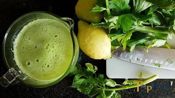 Những lợi ích bất ngờ từ nước ép cần tây