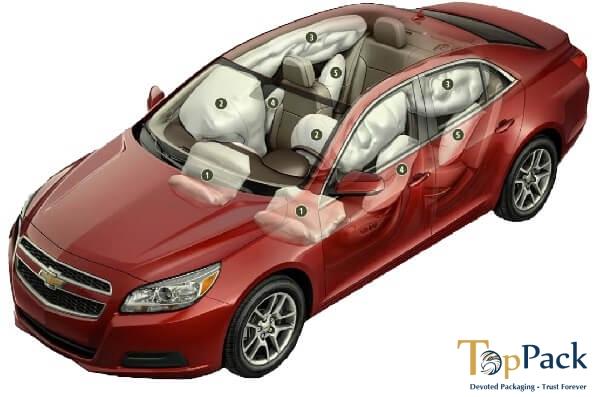 Giá các loại túi khí trên ô tô? Chi phí thay túi khí